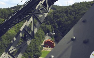 Eröffnung: Der Klettersteig an der Müngstener Brücke
